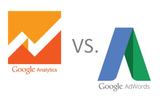 Conversions in Analytics vs. AdWords